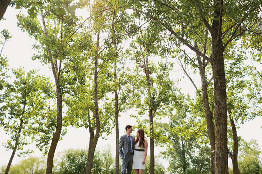 Bluffer's park wedding photos