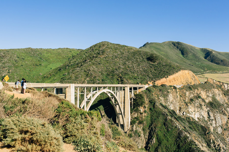 Bixby bridge photos