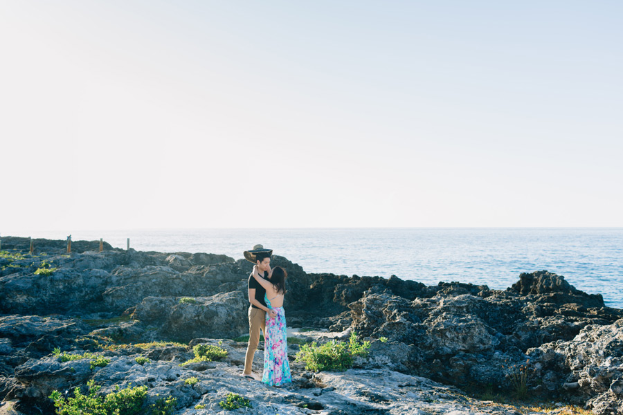 negril jamaica engagement photography