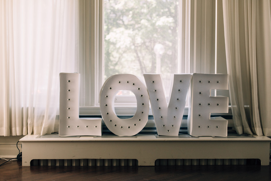 Wedding Decor Ideas Handmade Love Sign