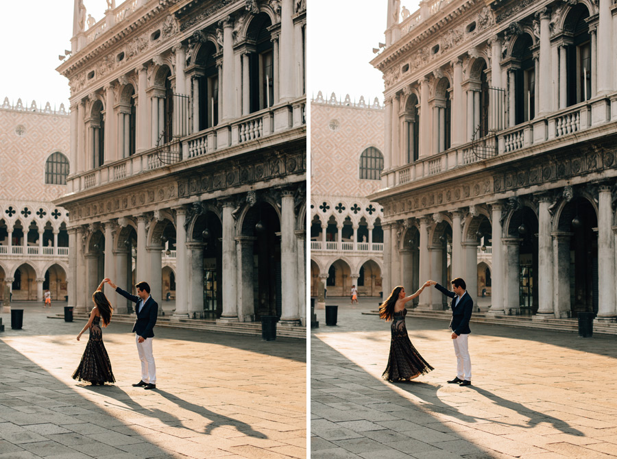 Venice romantic couples photos