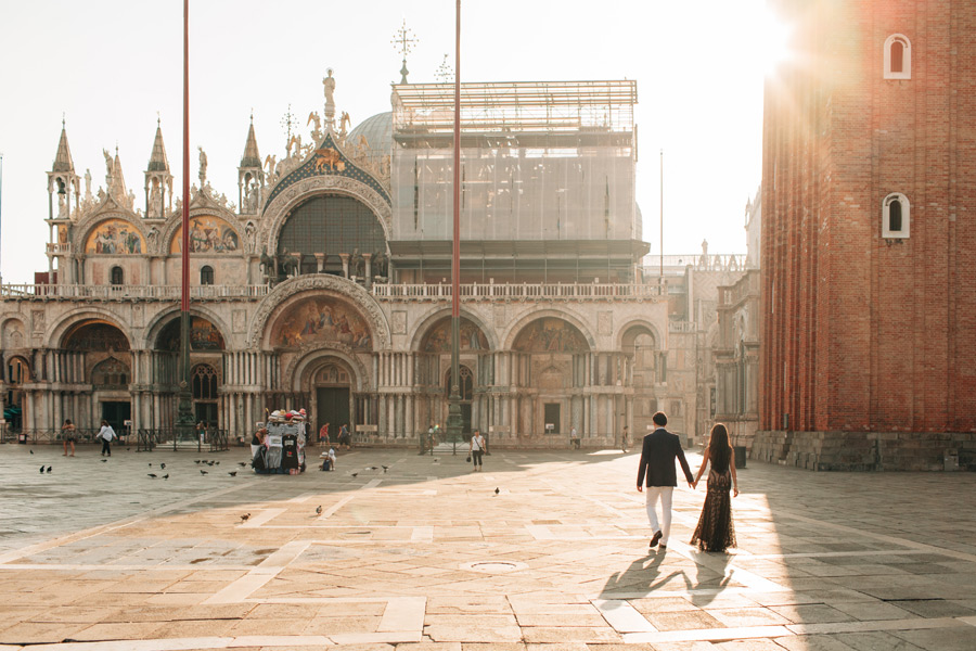Venice honeymoon portrait session