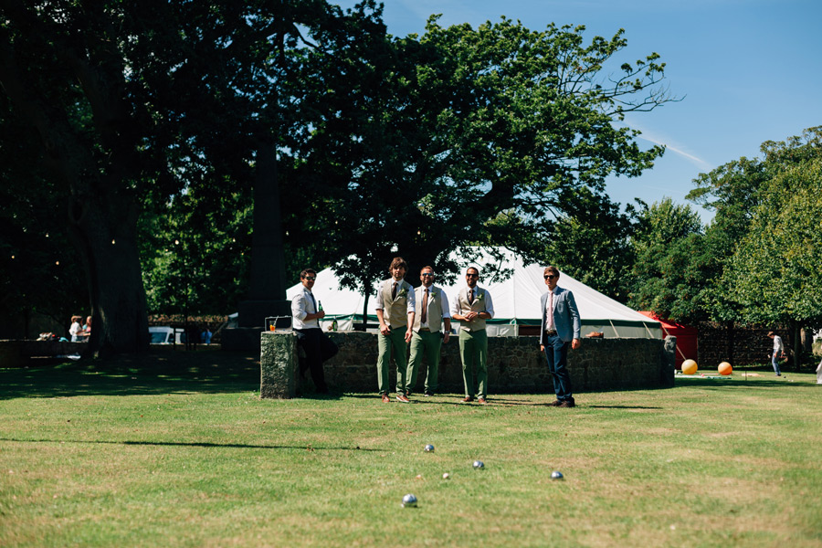 lawn games fun wedding ideas