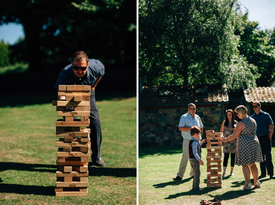 life sized jenga wedding lawn games