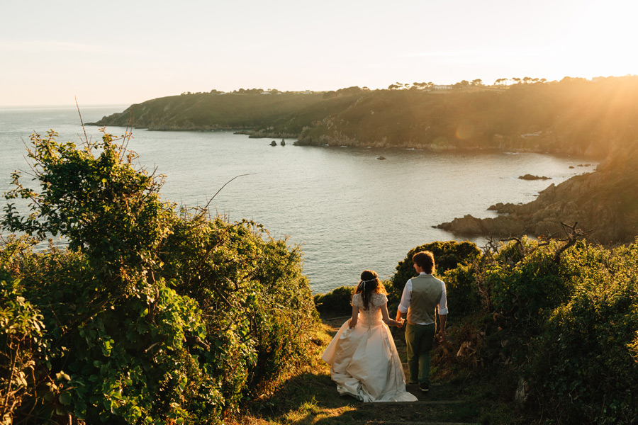Creative wedding photographer Guernsey