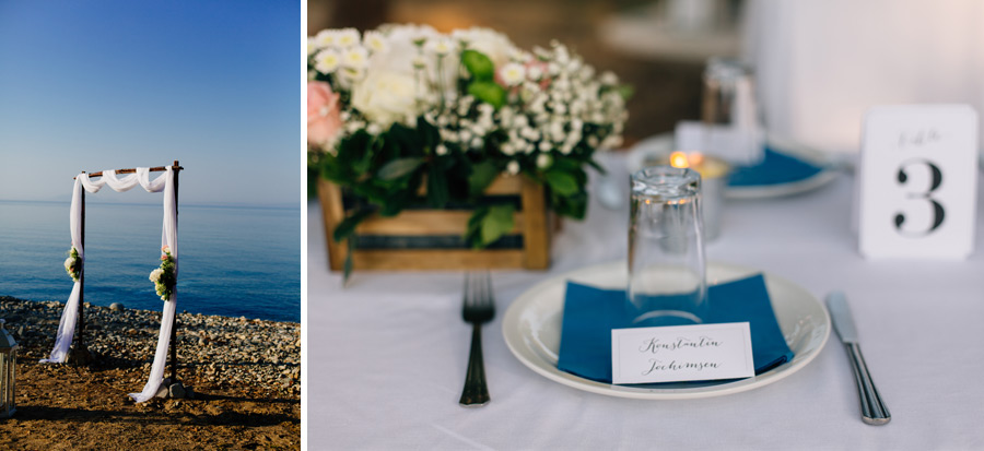 Samothraki beach wedding locations