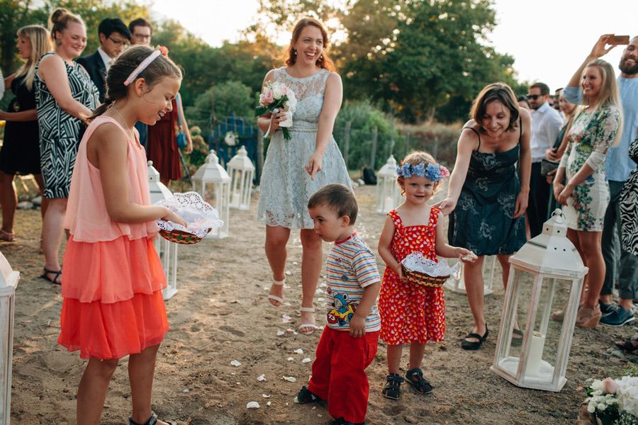Documentary wedding photographer Greek islands