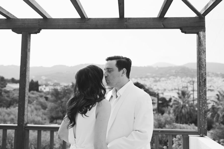 First look photos wedding