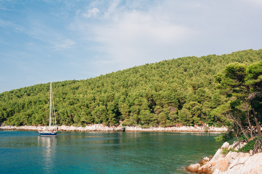 Skopelos wedding by the sea