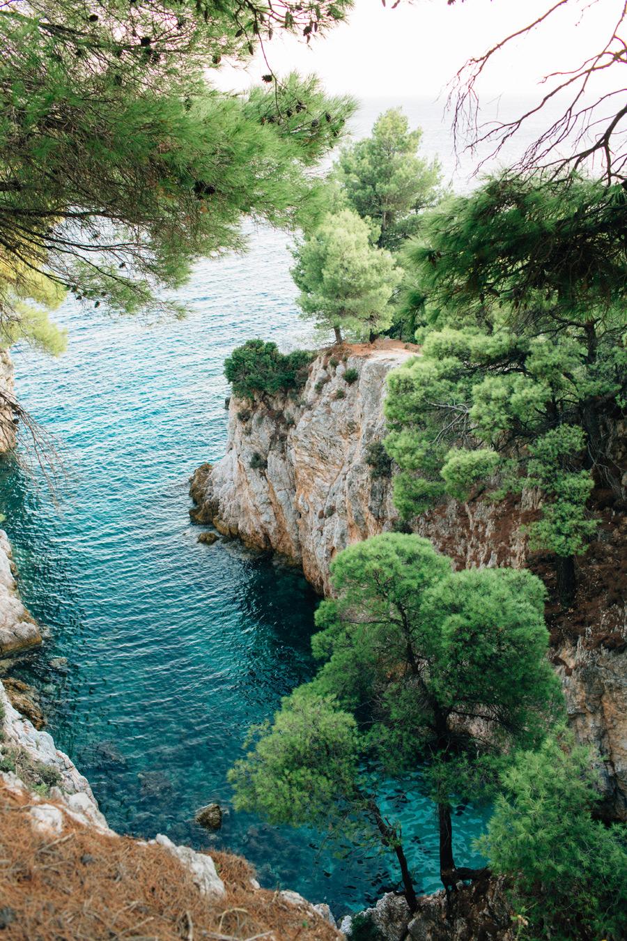 Skopelos wedding ideas blue green bay