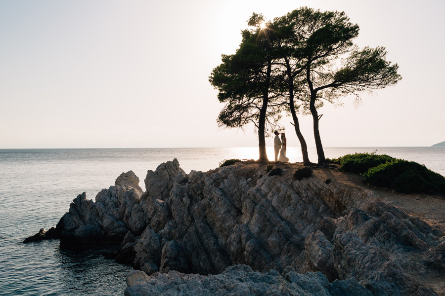 Amarantos Rocks Skopelos wedding