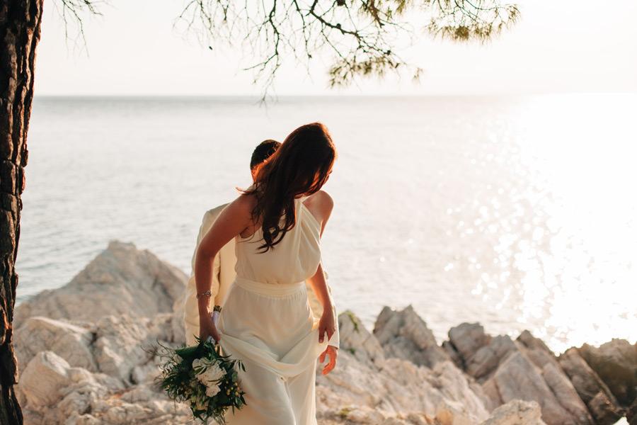 Mamma mia movie location wedding
