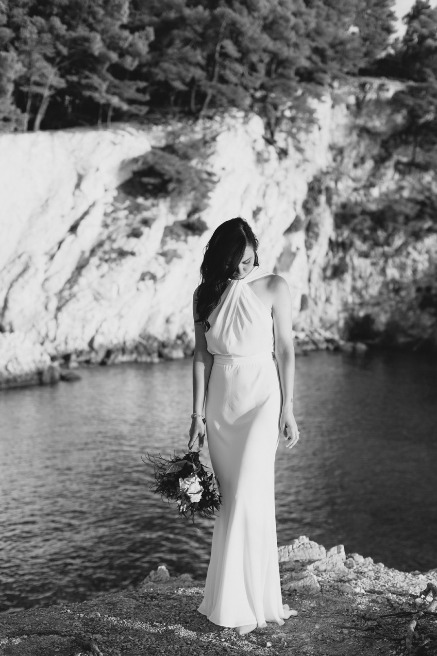 Agnondas Skopelos wedding bride