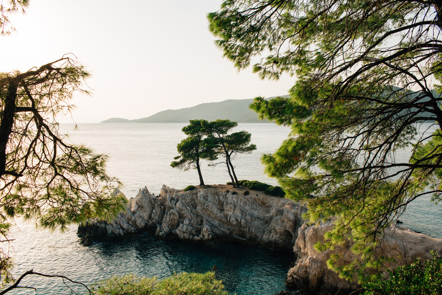 Amarantos Rocks Skopelos Greek Island