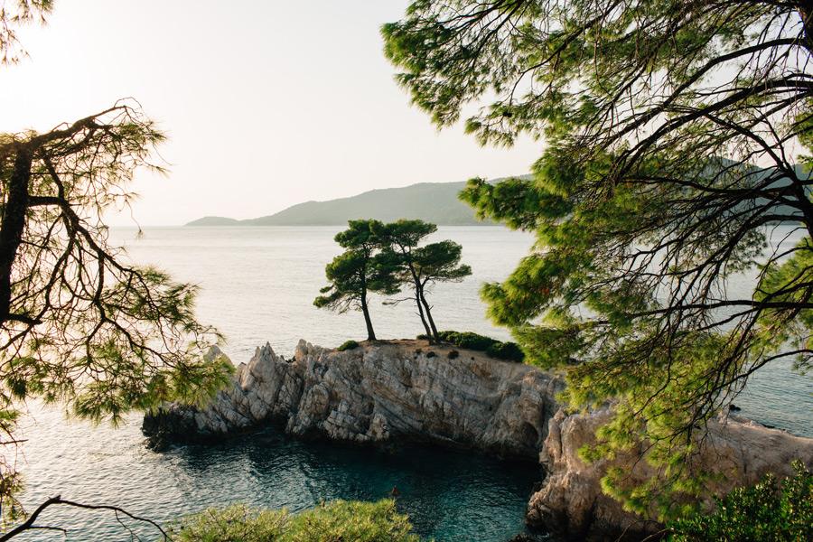 Amarantos Rocks Skopelos Greek Island