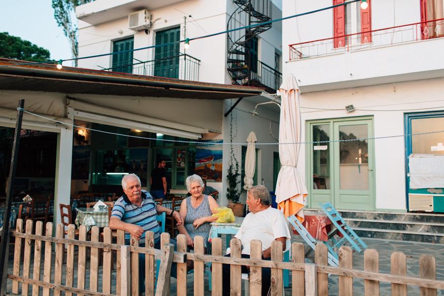 Korali taverna Skopelos