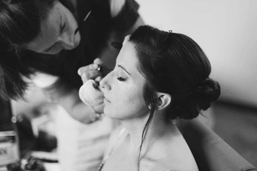bride getting ready hotel sovana