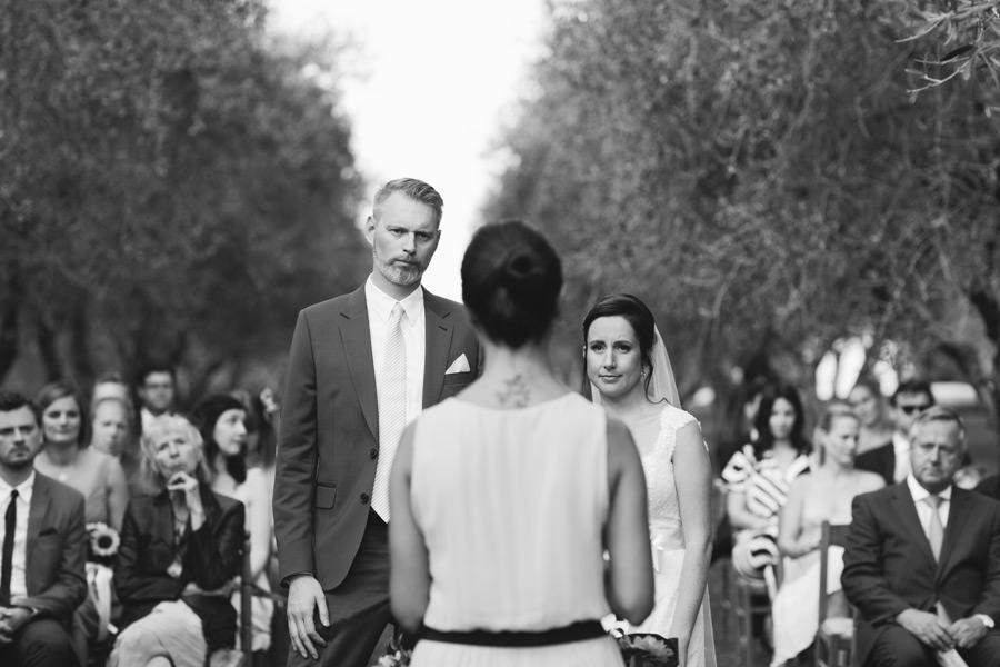 Olive garden wedding Tuscany