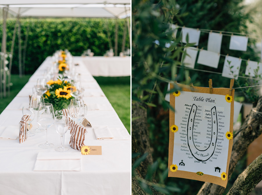 garden wedding ideas Tuscany