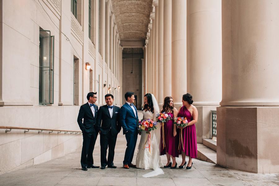 wedding portraits union station Toronto