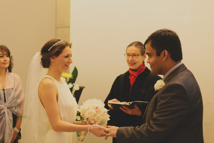 Toronto city hall wedding ceremony photos