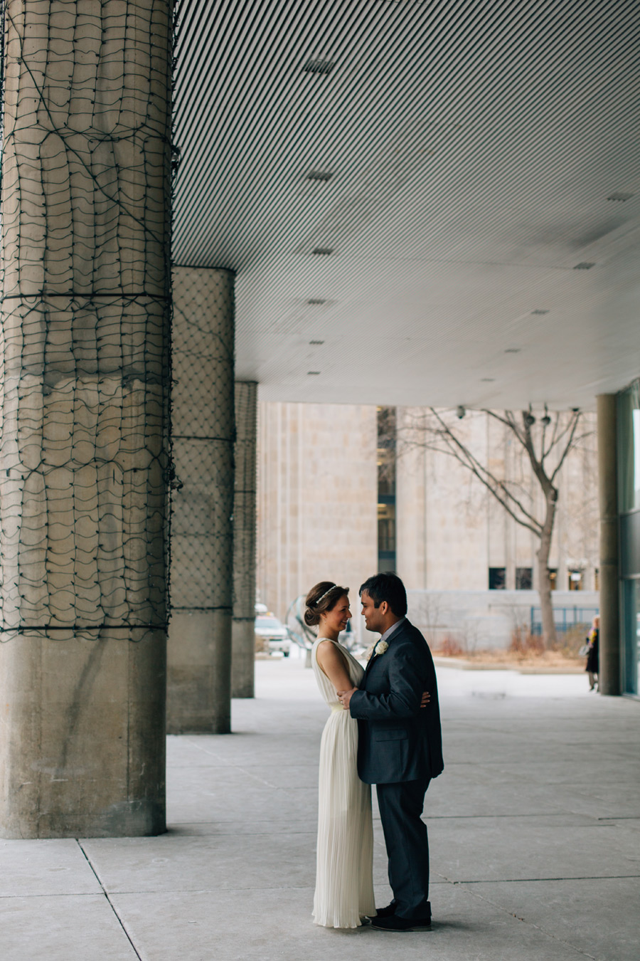 Nathan phillips square wedding photos