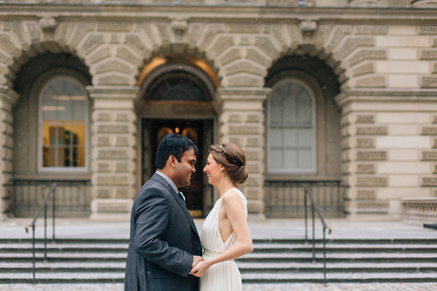 Toronto winter wedding photo locations