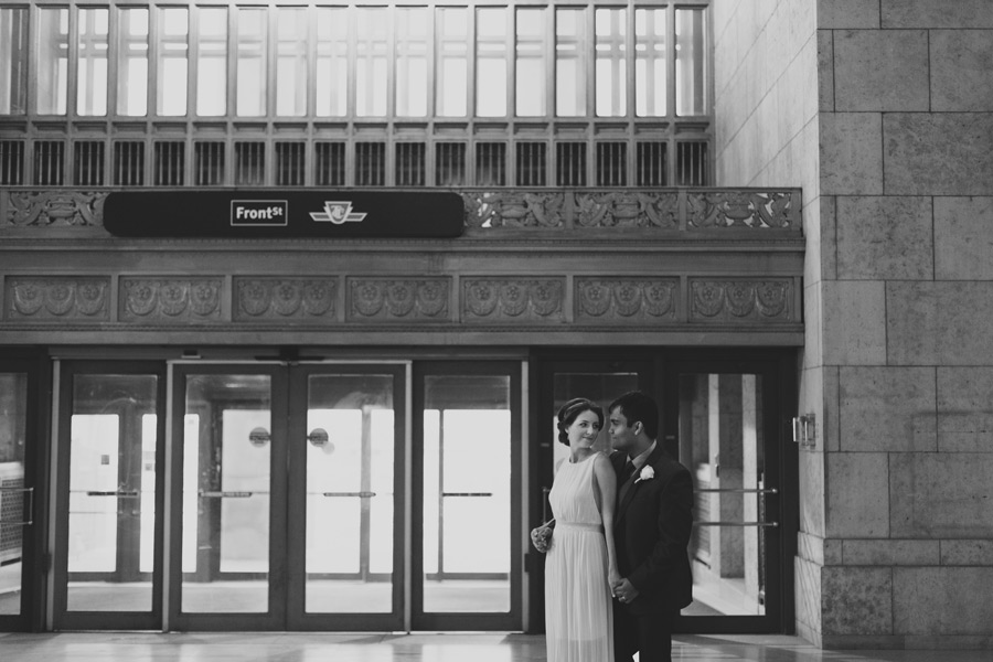 Union station wedding pictures