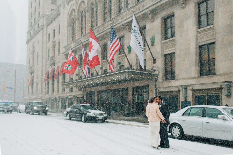 Fairmont Royal York wedding pictures