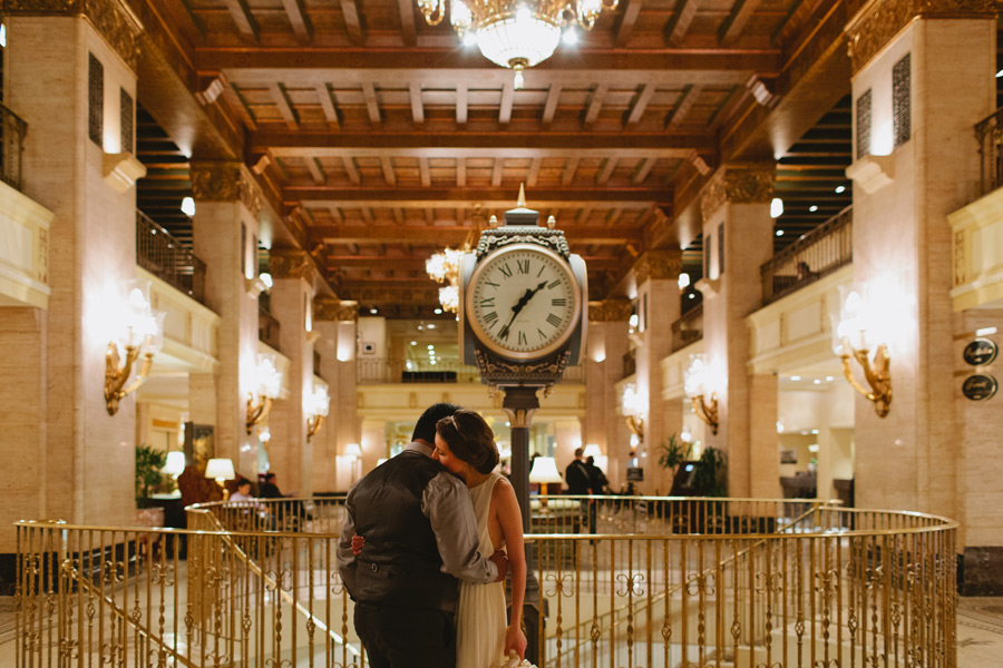 wedding photos at Fairmont Royal York