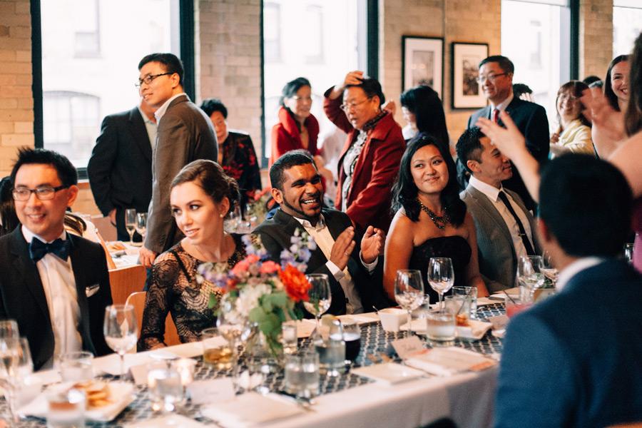Reportage style wedding photos