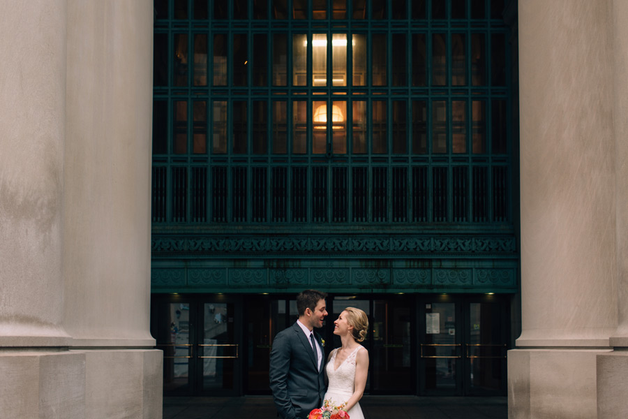 Toronto Union station wedding photos
