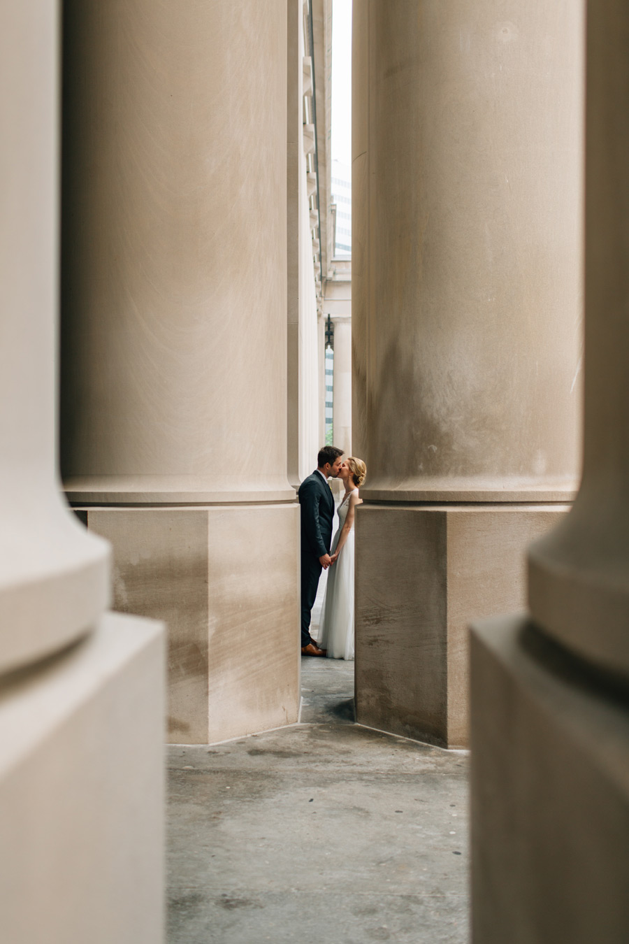 Toronto Union station wedding pictures