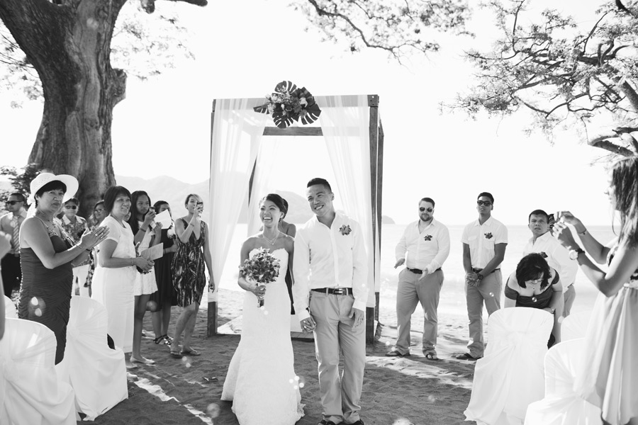 costa rica wedding photos