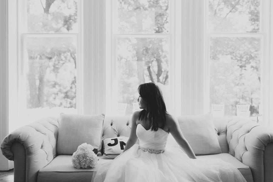 bridal portrait de la salle house