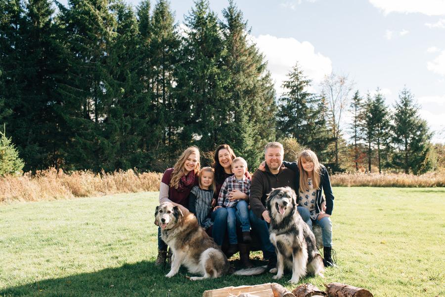 orangeville family photographer