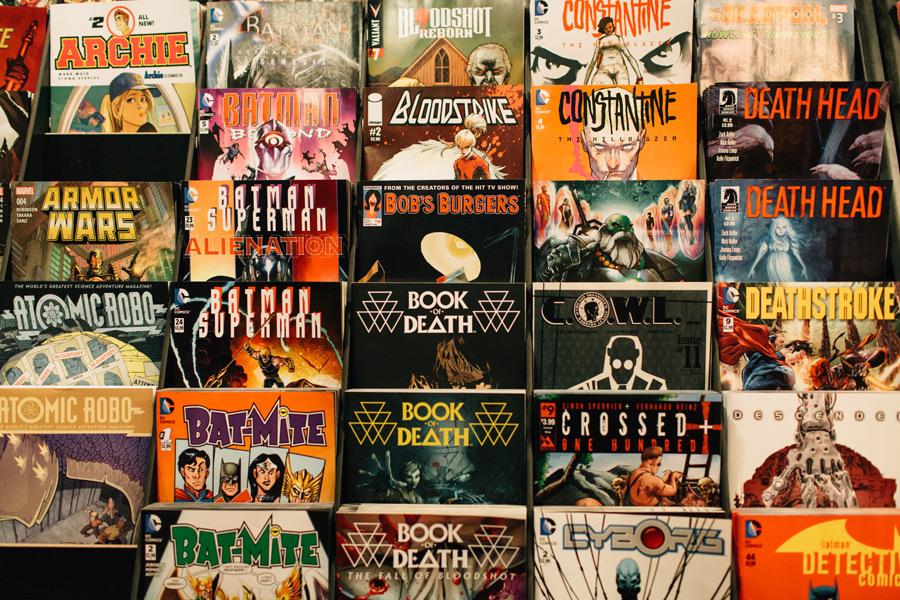 silversnail comic bookstore