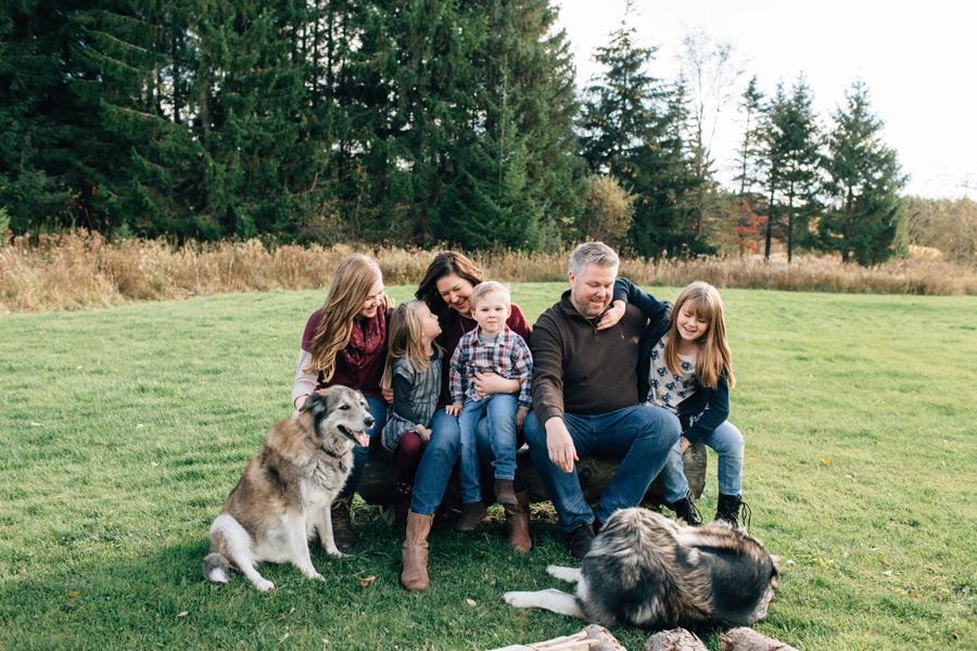 orangeville family photography