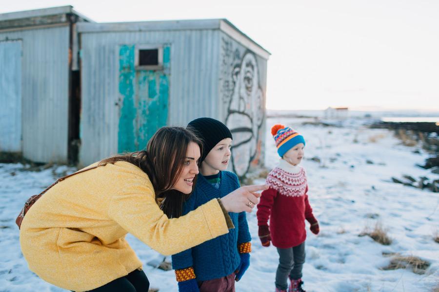 Reykjavik family photos