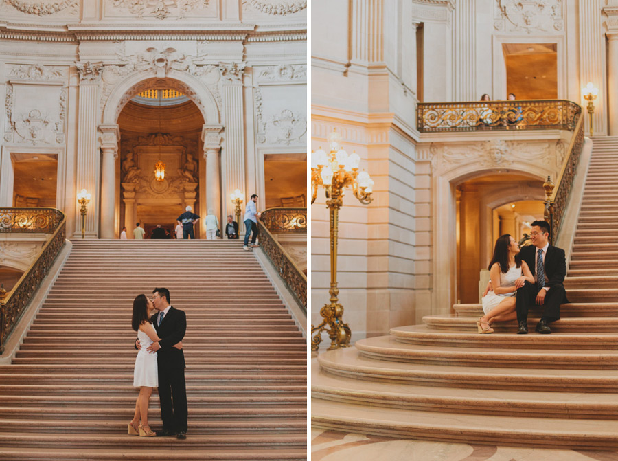 san fran city hall wedding pics