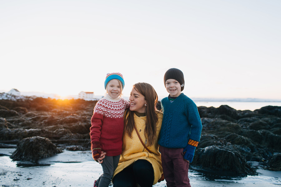 Iceland family photography