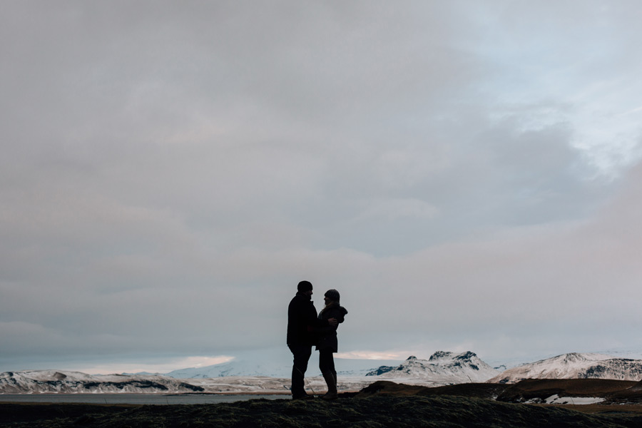 Iceland engagement pictures