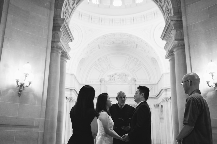 getting married at san fran city hall
