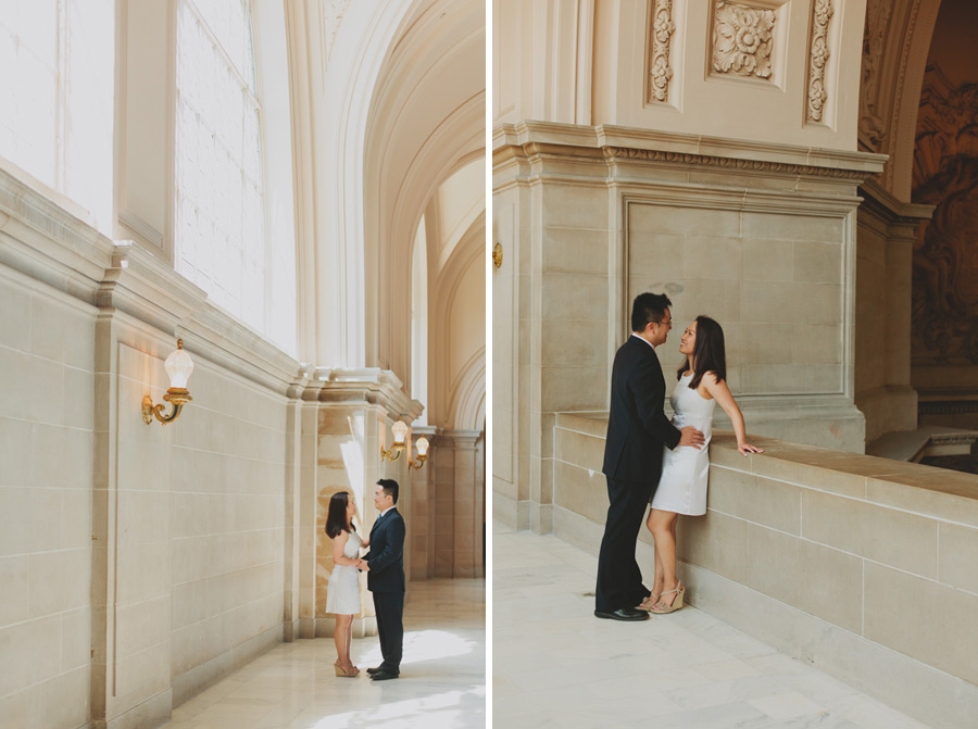 city hall wedding photography san fran