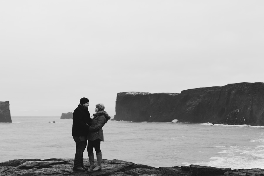 dyrholaey Iceland engagement photography