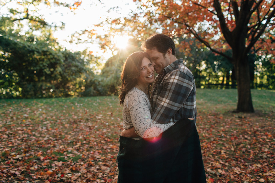 Fall High Park engagement photos