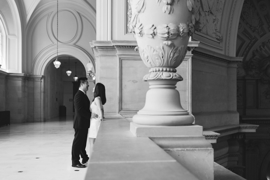 san fran cityhall wedding photography