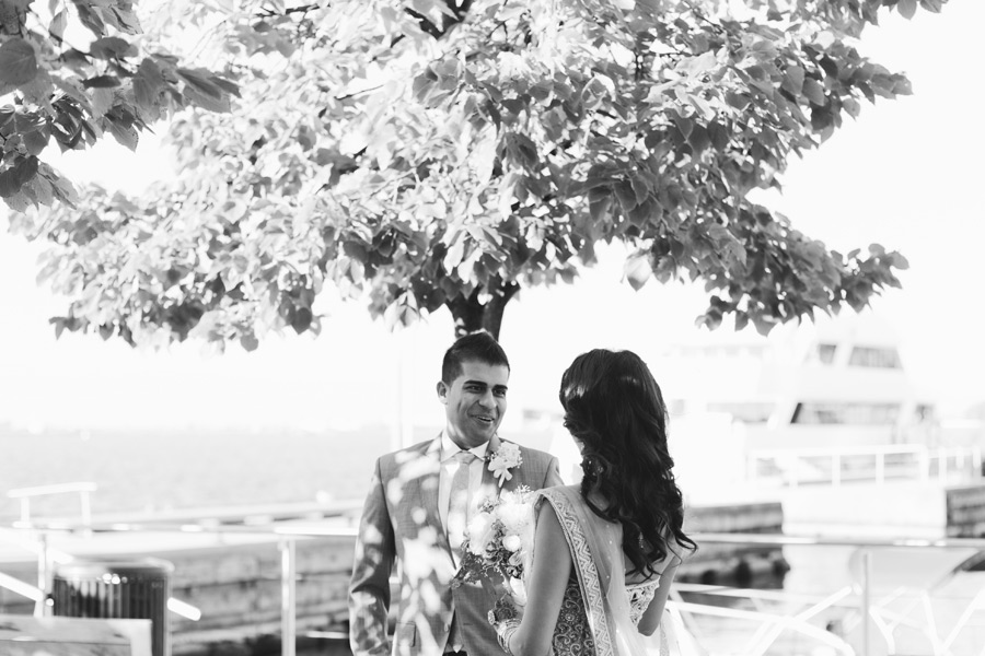 First Look wedding pics