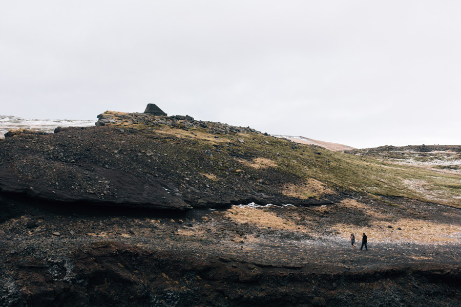 dyrholaey peninsula Iceland engagement photos