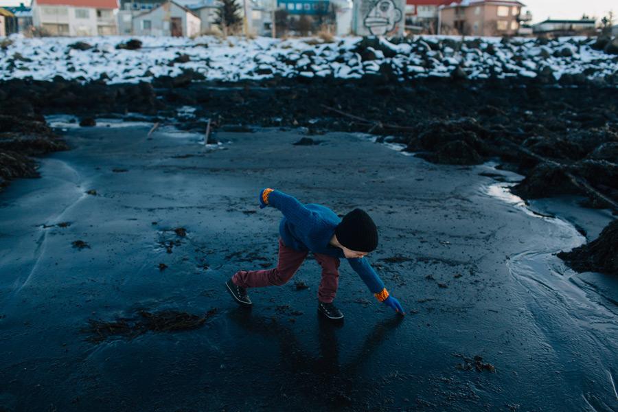 Reykjavik child photographer